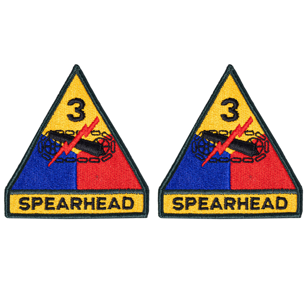 Army Patch: 3rd Third Armor Division - color
