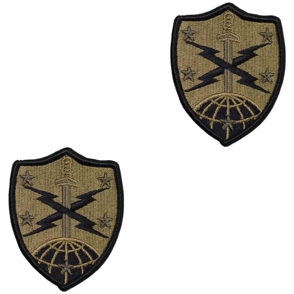 Army Patch: 91st Cyber Brigade - embroidered on OCP