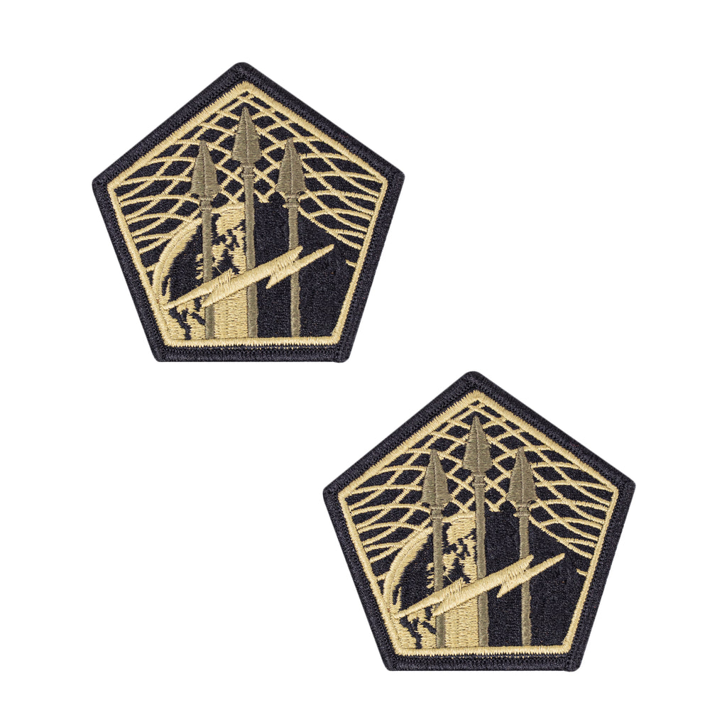 Army Patch: Cyber Command - embroidered on OCP with hook