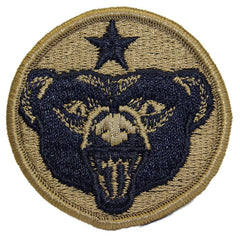 Army Patch: U.S.A. Alaska Defense Command - embroidered on OCP