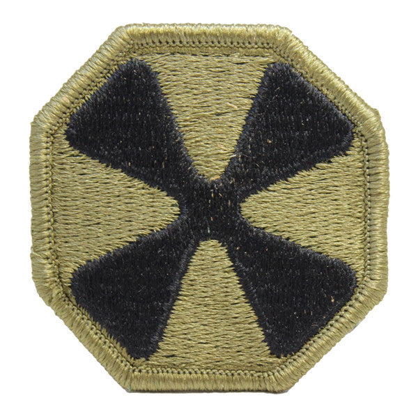 Army Patch: Eighth Army - embroidered on OCP