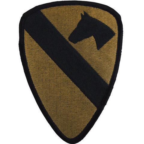 Army Patch: First Cavalry - embroidered on OCP