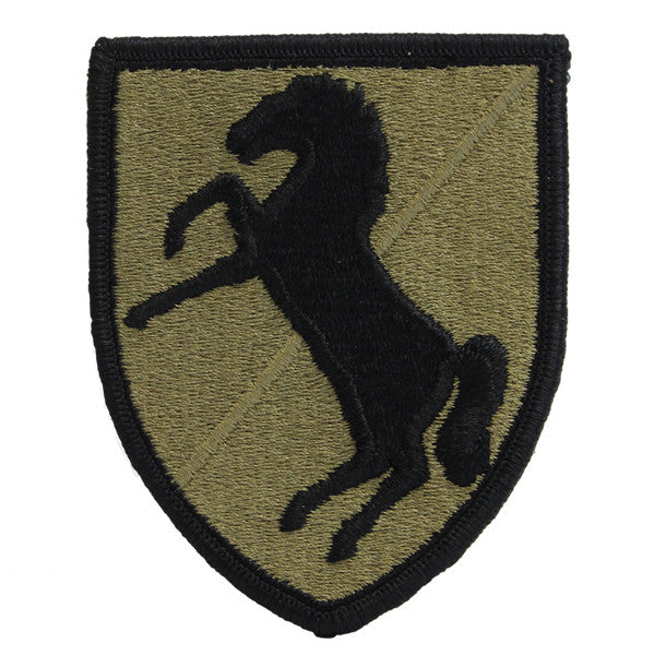 Army Patch: 11th Cavalry Regiment - embroidered on OCP
