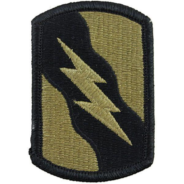 Army Patch: 155th Armor Brigade Combat Team - embroidered on OCP with Hook