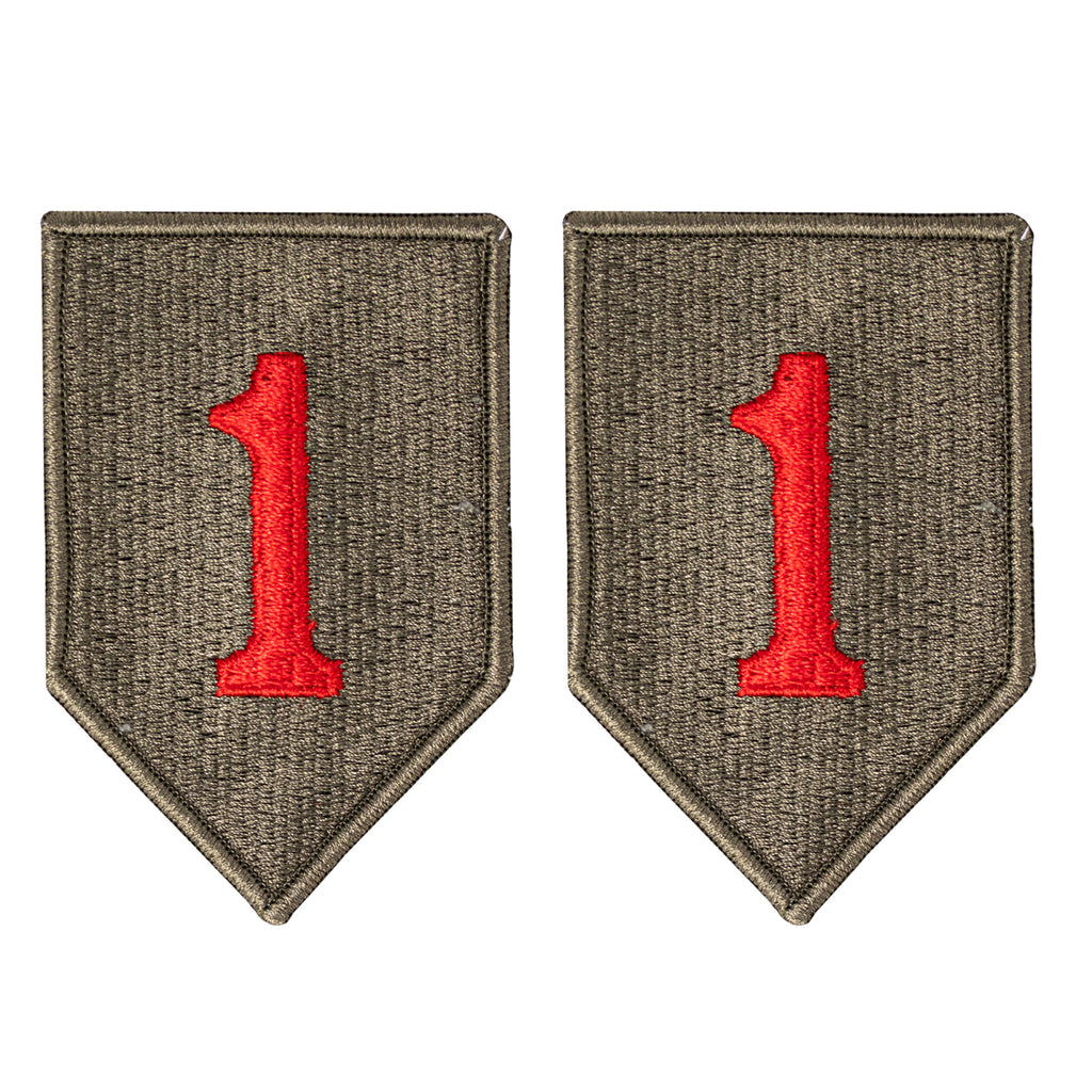 Army Patch: 1st Infantry Division - color