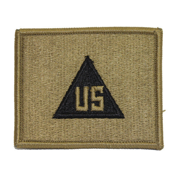 Army Patch: Civilian in the Field - embroidered on OCP