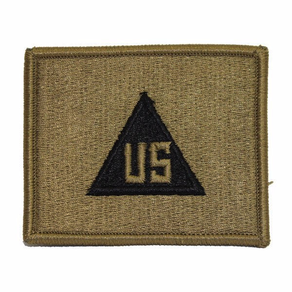 Army Patch: U.S. Civilian In The Field - embroidered on OCP