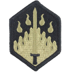 Army Patch: 48th Chemical Brigade - embroidered on OCP