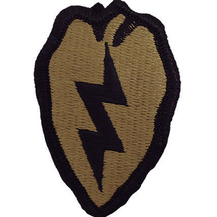 Army Patch: 25th Infantry Division - embroidered on OCP