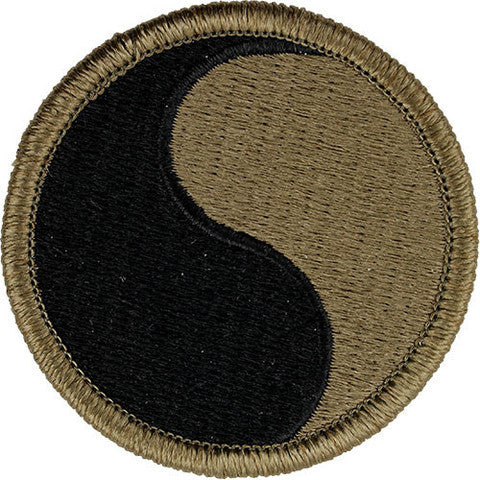 Army Patch: 29th Infantry Division - embroidered on OCP