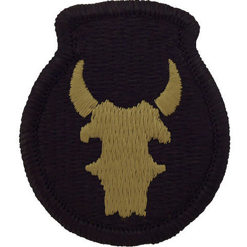 Army Patch: 34th Infantry Division - embroidered on OCP