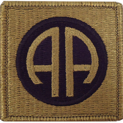 Army Patch: 82nd Airborne Division - embroidered on OCP