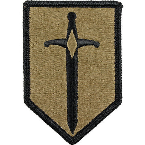 Army Patch: 1st Maneuver Enhancement Brigade - embroidered on OCP