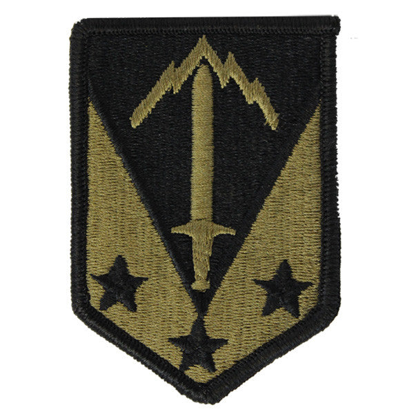 Army Patch: 3rd Third Maneuver Enhancement Brigade - embroidered on OCP