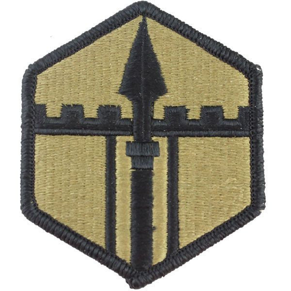 Army Patch: 301st Maneuver Enhancement Brigade - embroidered on OCP