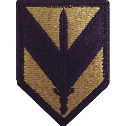 Army Patch: First Sustainment Brigade - embroidered on OCP