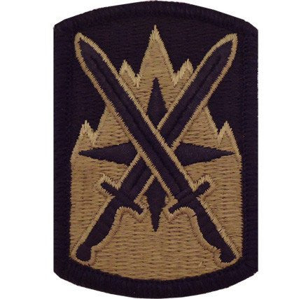 Army Patch: 10th Sustainment Brigade - embroidered on OCP