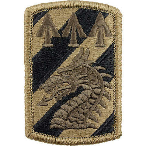 Army Patch: 3rd Sustainment Brigade - embroidered on OCP