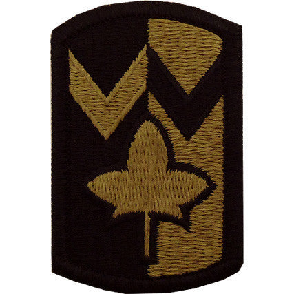 Army Patch: 4TH Sustainment Brigade - embroidered on OCP