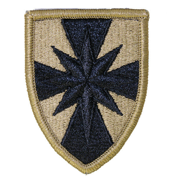 Army Patch: 8th Sustainment Command - embroidered on OCP