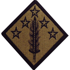 Army Patch: 20th CBRNE Chemical, Biological, Radiological, Nuclear, Explosives Command - embroidered on OCP