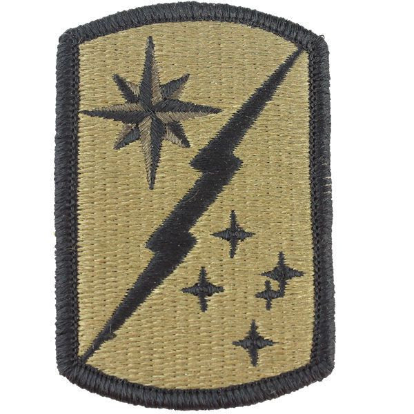 Army Patch: 45th Sustainment Brigade - embroidered on OCP