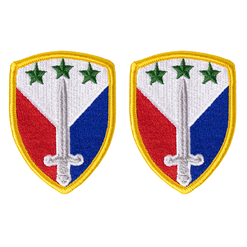 Army Patch: 402nd Support Brigade - color