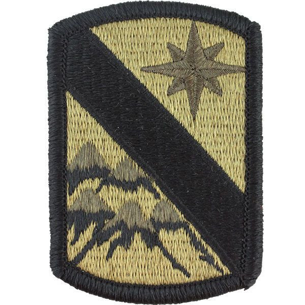 Army Patch: 43rd Sustainment Brigade - embroidered on OCP