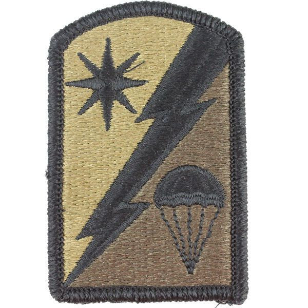 Army Patch: 82nd Sustainment Brigade - embroidered on OCP