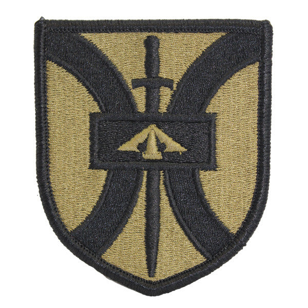 Army Patch: 916th Field Army Support Brigade - embroidered on OCP