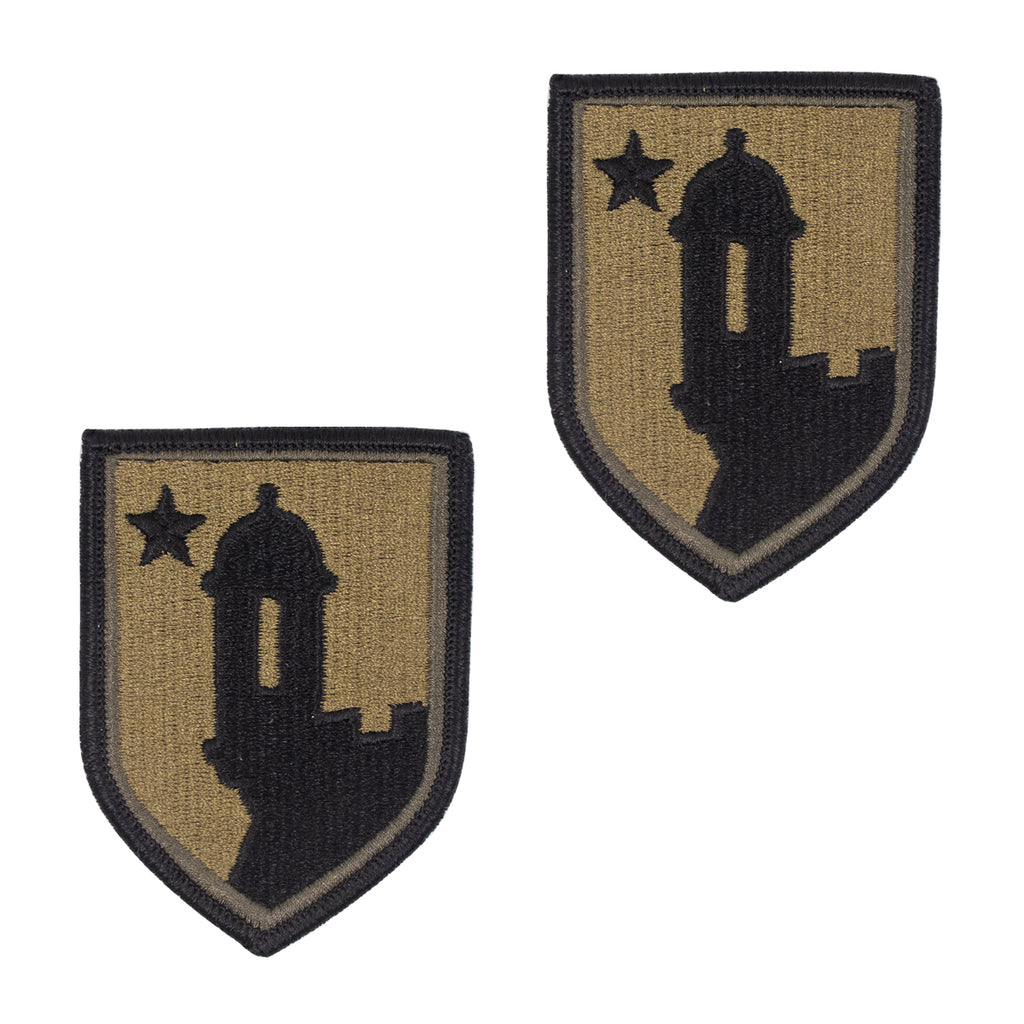 Army Patch: 191ST Support Group - embroidered on OCP