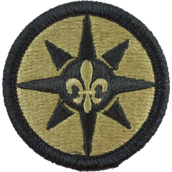 Army Patch: 316th Sustainment Command - embroidered on OCP