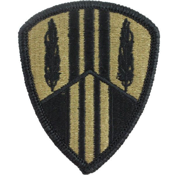 Army Patch: 369th Sustainment Brigade - embroidered on OCP