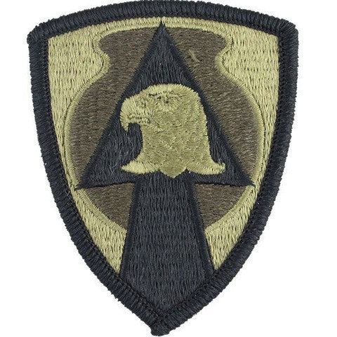 Army Patch: 734th Support Group - embroidered on OCP