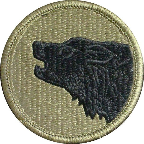Army Patch: 104th Training Division - embroidered on OCP