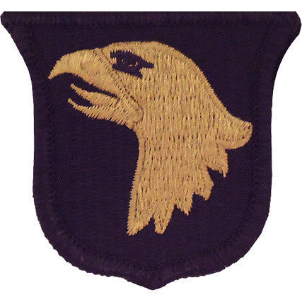 Army Patch: 101st Airborne Division - embroidered on OCP