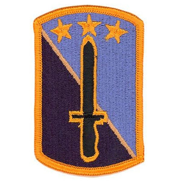 Army Patch: 170th Infantry Brigade - embroidered full color