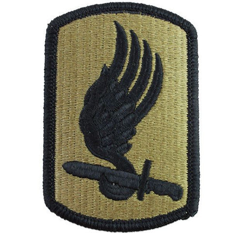 Army Patch: 173rd Airborne Brigade - embroidered on OCP