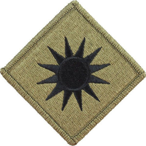 Army Patch: 40th Infantry Division - embroidered on OCP