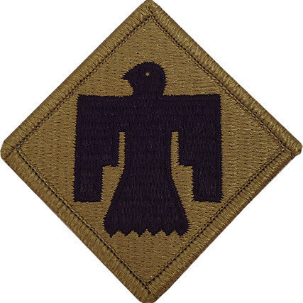 Army Patch: 45th Infantry Brigade - embroidered on OCP