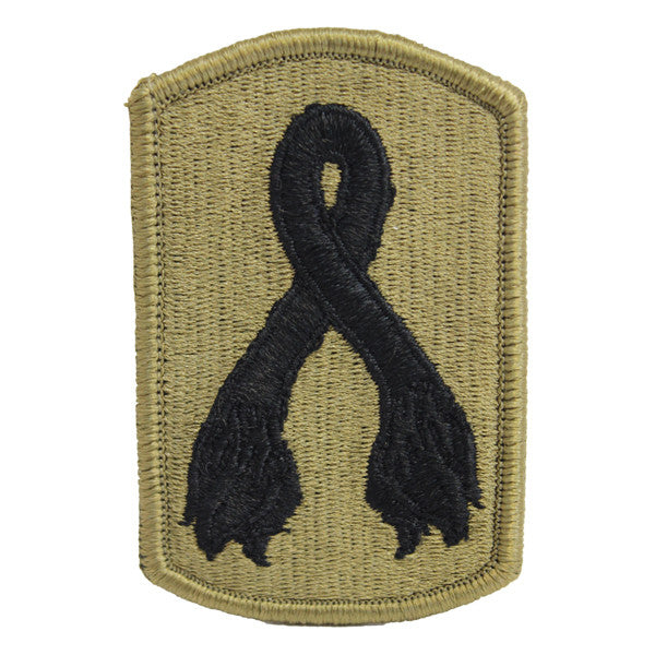 Army Patch: 196th Infantry Brigade - embroidered on OCP