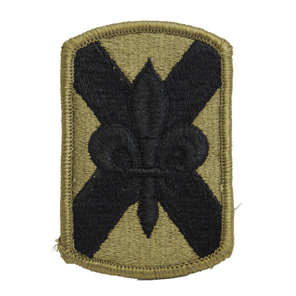 Army Patch: 256th Infantry Brigade - embroidered on OCP