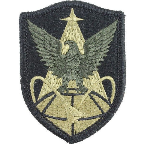 Army Patch: 1st Space Brigade - embroidered on OCP