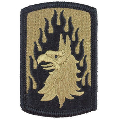 Army Patch: 12th Aviation Brigade - embroidered on OCP