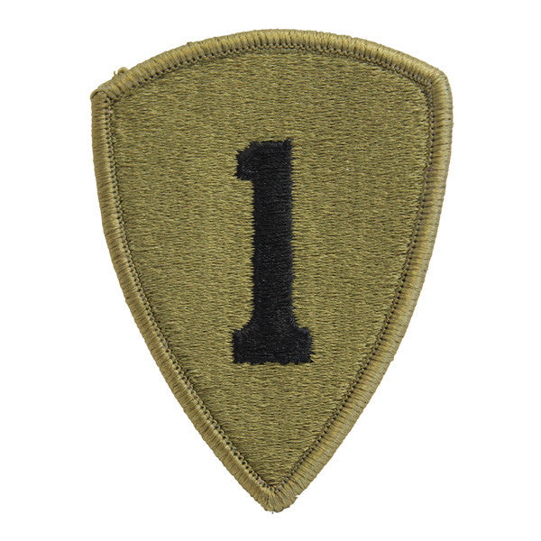 Army Patch: First Personnel Command - embroidered on OCP