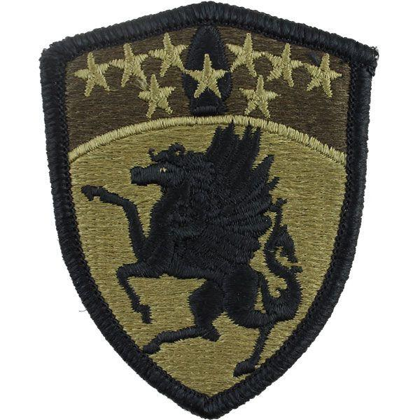 Army Patch: 63rd Aviation Brigade - embroidered on OCP
