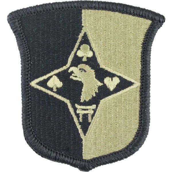 Army Patch: 101st Sustainement Brigade - embroidered on OCP