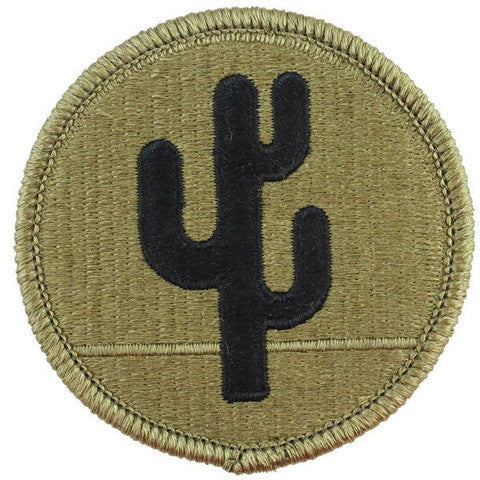 Army Patch: 103rd Sustainment Command (Expeditionary) - embroidered on OCP
