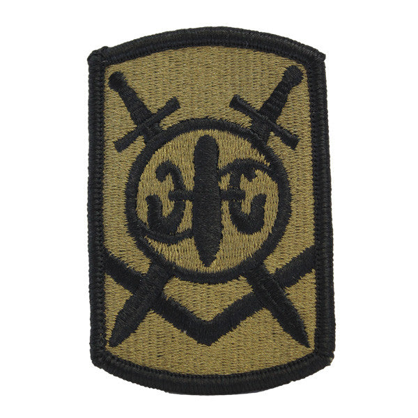 Army Patch: 501st Sustainement Brigade - embroidered on OCP