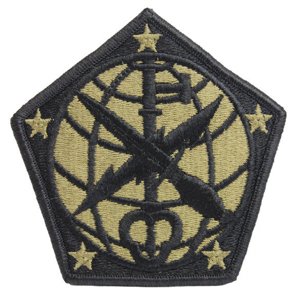 Army Patch: 704th Military Intelligence Brigade - embroidered on OCP